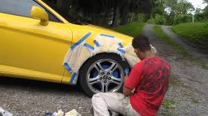 How To Spray Paint Your Car - how to spray tint your car rims in 3 easy steps in 5 minutes