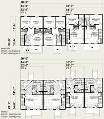 Multi Family Home Floor Plans Multi Family Cab Prefab 4 Plex Floor Plans Crtable