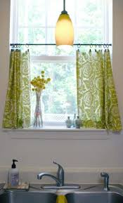 Kitchen Curtain Ideas Kitchen Window Curtains And Treatments For Small Spaces