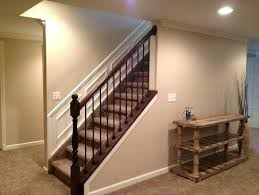 basement stairs railing narrow and kitchen design removable stair