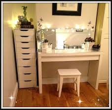 makeup vanity with lights ikea table vanity table jewelry desk