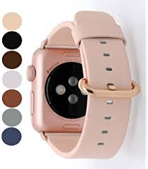 Watch Interior Leather Bar Online Amazon Com 15 Colors For Apple Watch Bands 38mm And 42mm