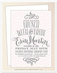 bridesmaid luncheon invitations bridal brunch shower invitations marialonghi