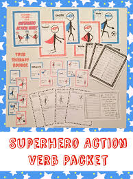 Resume Action Words By Category Superhero Action Verbs Your Therapy Source
