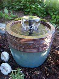 l with water fountain base diy flower pot fountain 20 pump kit from lowes 16 pot from ocean