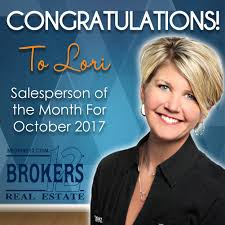 congratulations to lori soltis for earning salesperson of the