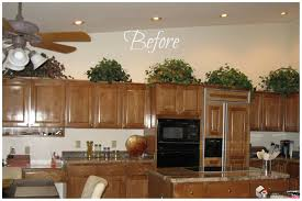 Inside Kitchen Cabinet Ideas by Modren Above Kitchen Cabinet Decorations I Want To Make That For