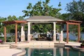 build a cabana patio covers and cabanas backyard retreats