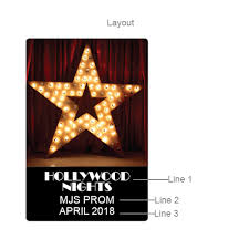 hollywood personalized playing cards hollywood party favors and