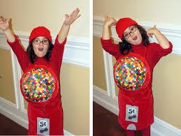 Starbucks Halloween Costume Kids Red Gumball Machine Costume Bits Bytes