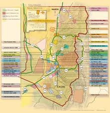 Map Of Taos New Mexico by Taos New Mexico Information
