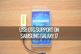 format flashdisk untuk otg usb otg support on samsung galaxy j7 youtube
