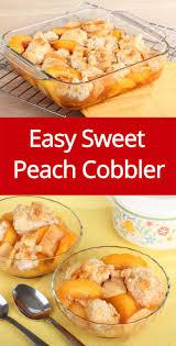 25 best easy peach cobbler ideas on pinterest peach cobbler