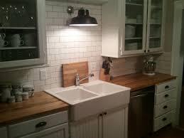 countertops modern kitchen butcher block countertops kitchens full size of white subway tile backsplash butcher block countertops white glass cabinet doors double bowl