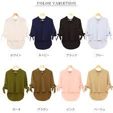 ribbon shirt futier rakuten global market loved the tops blouse thick