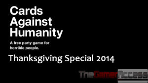 thanksgiving 2014 special cards against humanity part 2 the