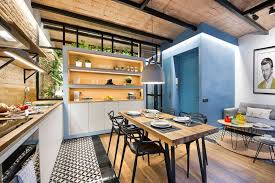 small modern apartment this small apartment in barcelona was inspired by a beach house