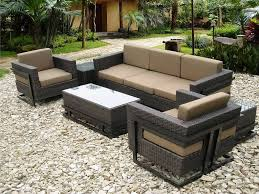 modern resin wicker patio furniture on sears with cappuccino sets