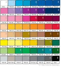 pantone color palette target decorated apparel
