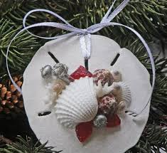 164 best christmas ornaments seashell images on pinterest