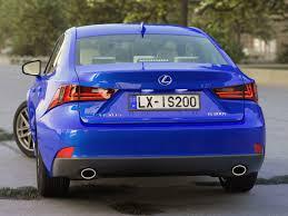 lexus is blue lexus is f sport 2016 3d cgtrader