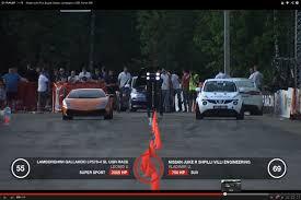 nissan juke r specs nissan juke r vs bugatti veyron ugr lambo and ferrari 599 gto on