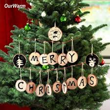 Christmas Decoration For Home by Online Get Cheap Wooden Christmas Decoration Aliexpress Com