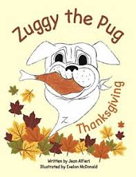 zuggy the pug thanksgiving coloring book ebay