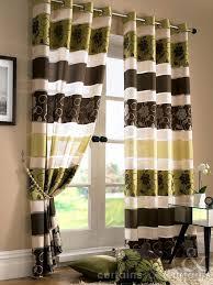 Green And Brown Curtains Green And Brown Curtains Ideas Mellanie Design
