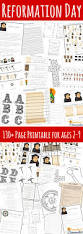 making reformation day fun for kids with printable pack