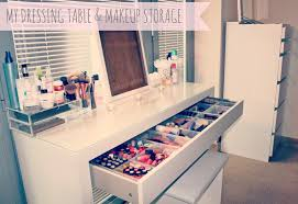 makeup vanity with storage home vanity decoration