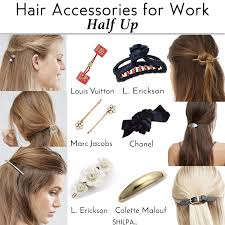 hair bands for try subtle hair accessories for work to get a polished look