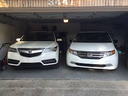 acura mdx vs lexus our 2011 odyssey vs 2015 mdx loaner pics and my thoughts