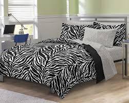 Zebra Bed Set My Room Zebra Ultra Soft Microfiber Comforter Sheet