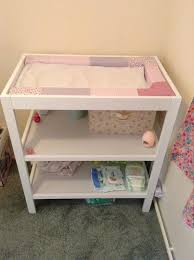Nappy Organiser For Change Table Mothercare White Changing Unit And Munchkin Nappy Organiser In