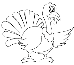 coloring pages of a turkey turkey coloring page free large images