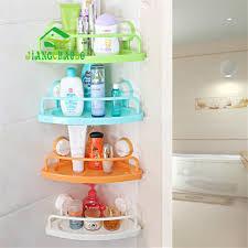 Bathroom Towel Racks And Shelves by Aliexpress Com Buy Bathroom Triangle Towel Rack Shelf Double