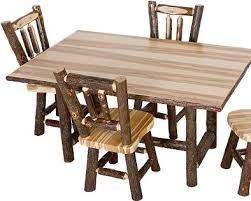 Hickory Dining Room Chairs by 36 Best Hickory Log Furniture Images On Pinterest Log Furniture