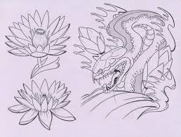 japanese flower tattoo flash designs japanese tattoo design
