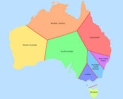 australia map capital cities australian states and territories if land belonged to the closest