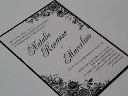 how to print your own wedding invitations layered lace print custom wedding invitation wedding invitations