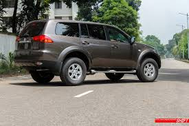 pajero mitsubishi locally bred 2014 mitsubishi pajero sport the daily star