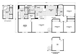 model dn 28564a manufactured home floor plan or modular floor plans