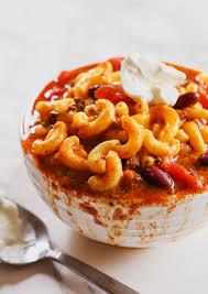 American Comfort Foods Chili Mac And Cheese Recipe U2014 Pip And Ebby