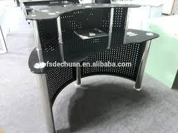 Black Salon Reception Desk Deluxe Black Small Salon Reception Desk Buy Small Reception Desk