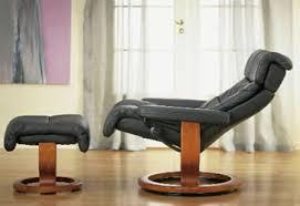 Recliner With Ottoman Ekornes Stressless Memphis Savannah Recliner Chair Lounger With