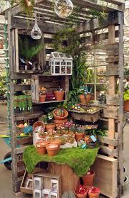 decorating garden design ideas with pallet garden bench 22