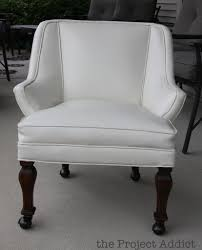 Recovering An Armchair Remodelaholic How To Restore An Old Leather Chair