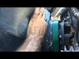 cummins n14 fan clutch solenoid quick fix a fan clutch youtube