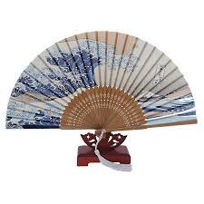 hand held folding fans fjs japanese handheld folding fan with traditional japanese ukiyo e